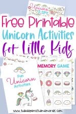 Free Unicorn Printables For Kids