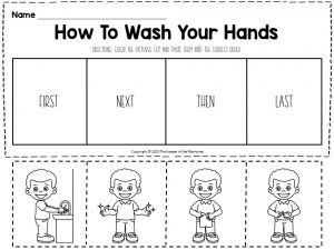 Hygiene Sequencing Worksheets How To Wash Your Hands