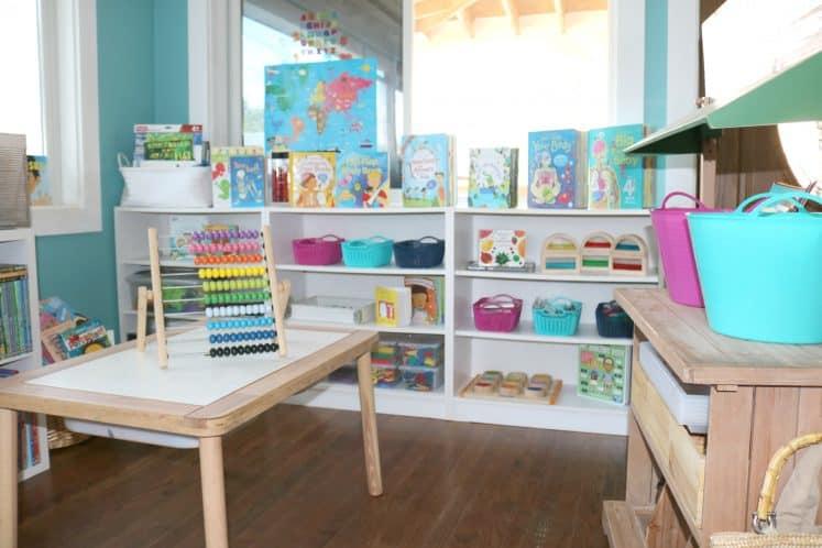 preschool homeschool room