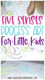 Sand Process Art for Little Kids