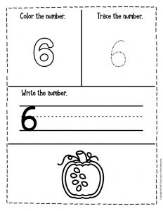Counting Pumpkin Seeds Halloween Worksheets for Preschool 6