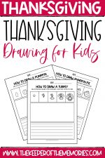 Thanksgiving Drawing for Kids