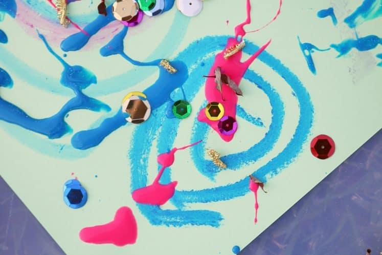 child's wind art
