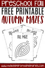 Free Printable Fall Mazes