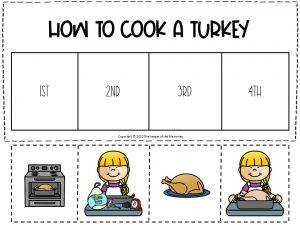 How to Cook A Turkey Sequencing Literacy Center