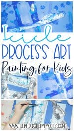 Icicle Painting for Kids