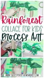Rainforest Collage for Kids