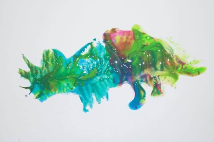 dinosaur process art