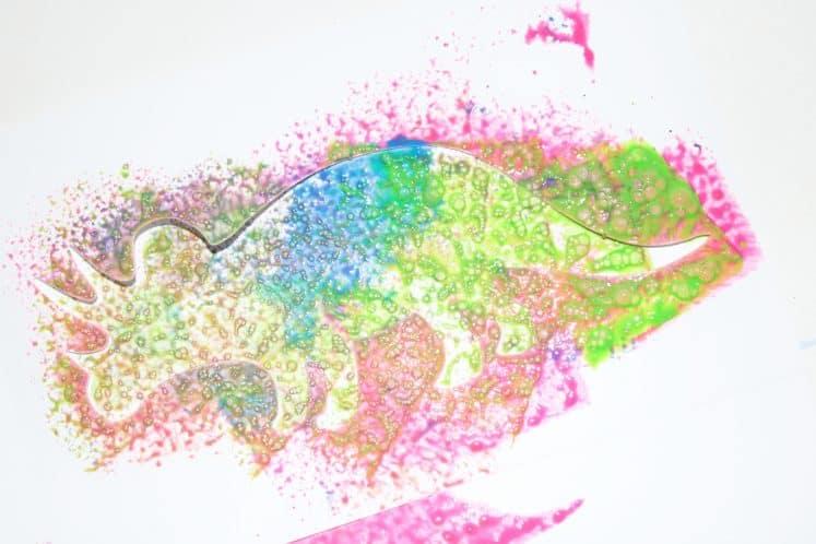preschooler's Dinosaur Painting for Kids