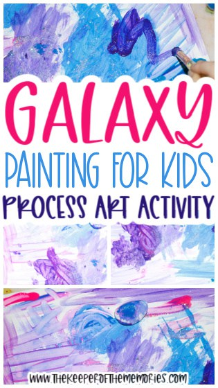 Galaxy Painting for Kids