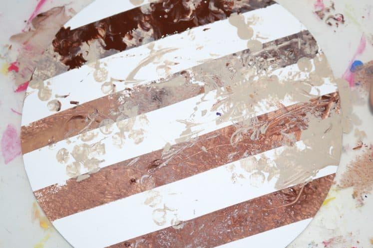 Jupiter Painting for Kids