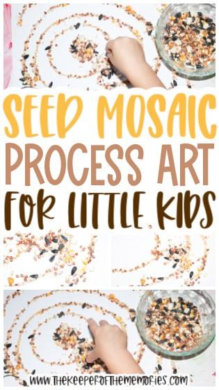 Seed Mosaic Craft