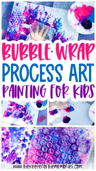 Bubble Wrap Painting for Kids
