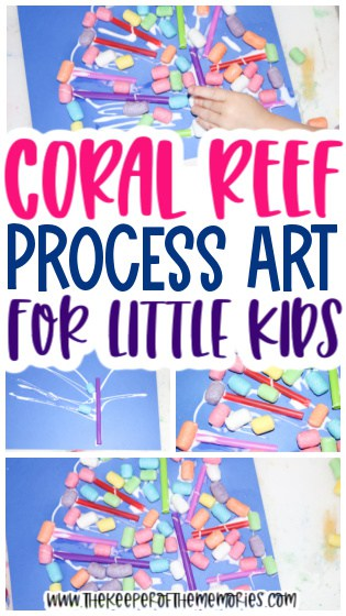 Coral Collage for Kids