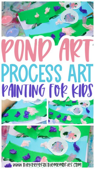 Pond Art Painting for Kids