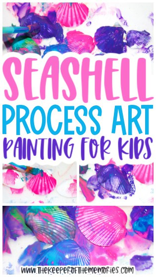 Seashell Painting for Kids