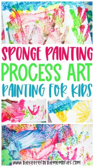 Sponge Painting for Kids