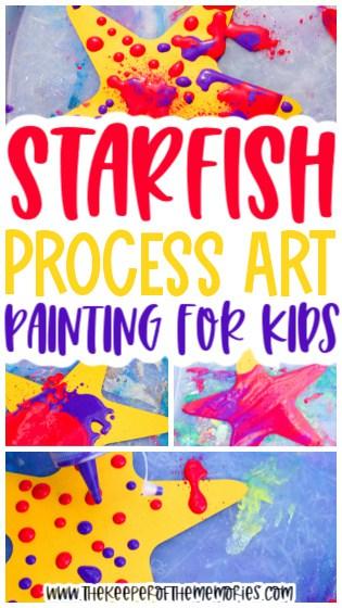 Starfish Painting for Kids