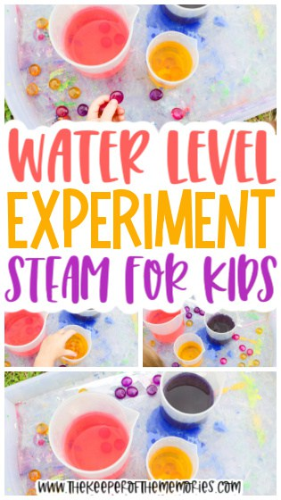 Water Experiment for Kids