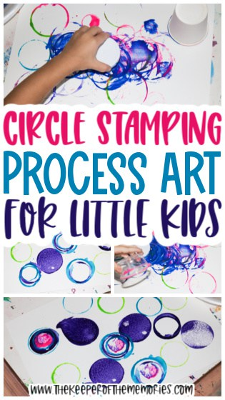 Circle Painting for Kids