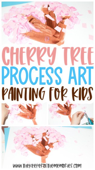 Cherry Tree Painting for Kids